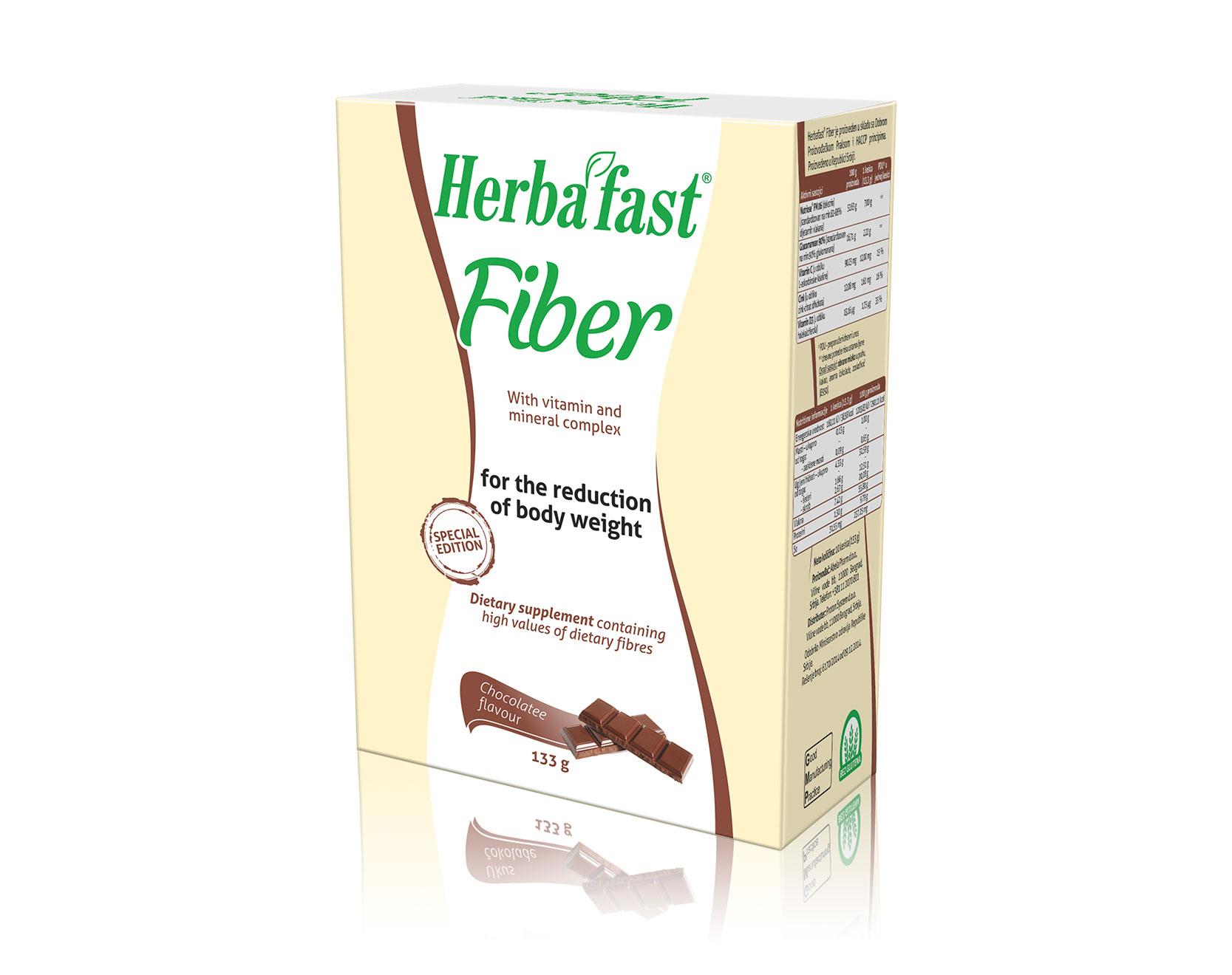 Herbafast Fiber Sachets – Chocolate