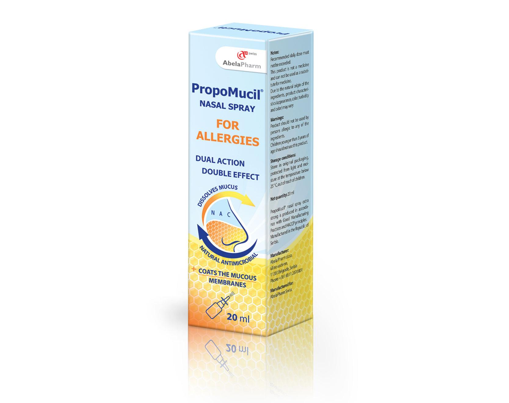 PropoMucil Allergy nasal spray